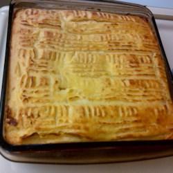 Meme's Potato Kugel Recipe - Enjoy this mashed potato kugel for Thanksgivukkah!