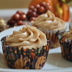 Pumpkin Spice Cupcakes With Cream Cheese Frosting Recipe - Pumpkin spice cupcakes topped with cinnamon cream cheese frosting are a festive hit for Halloween and Thanksgiving.