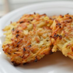 Crispy Potato Pancakes Recipe - These potato pancakes are crispy on the outside and tender on the inside and make a terrific side dish any day of the week.