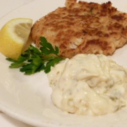 Tartar Sauce II Recipe - This is a traditional tartar sauce complete with hardboiled egg and capers.  Can be stored in the refrigerator for up to 3 days.
