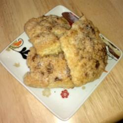 Chocolate-Hazelnut Marble Cake Scones