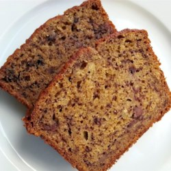 Healthy Banana Bread, made vegan~