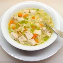 Simpliest Chicken Soup Ever