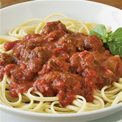 Classic Contadina(R) Spaghetti Sauce Recipe - This classic pasta sauce with lots of tomatoes and Italian sausage served on hot cooked pasta makes a quick, satisfying dinner any night of the week.
