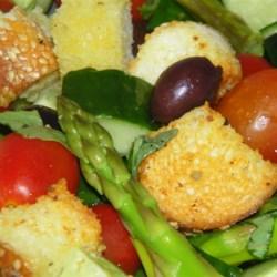 Asparagus and Tomato Panzanella