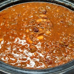 Siegrist Blazin' Saddles Cook-Off Chili