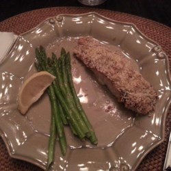Lemon Panko Crusted Salmon