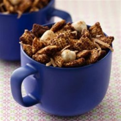 Mexican Hot Chocolate Chex(R) Mix Recipe - Savor the flavors of Mexican Hot Chocolate any time of year in this dynamite party mix.