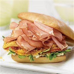 Margherita® Prosciutto with Crispy Tomatoes on Ciabatta