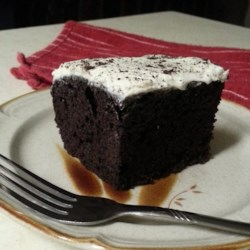 Mayonnaise Cake  II Recipe - This is my mother's cake recipe from the depression.  It is also my favorite chocolate cake.