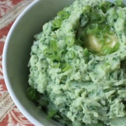 Chef John's Colcannon Recipe - The wonderful flavors of kale and leeks spice up your average buttery mashed potatoes for a St. Patrick's Day classic.