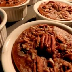 SPLENDA® Pecan Topped Pudding