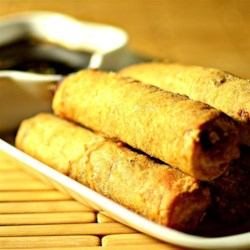 Lumpia Recipe - A lumpia is a Filipino egg roll. Lumpia are stuffed with all kinds of delicious vegetables and spices.