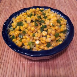 Corn and Jalapenos