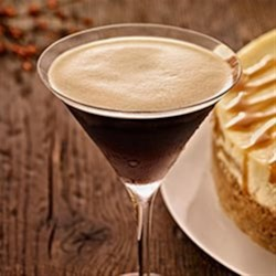 Kahlua(R) Espresso Martini Recipe - Kahlua and espresso bring a sophisticated mocha note to vodka martinis.