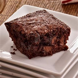 Easy Kahlua Brownies Recipe - Mix Kahlua into brownie batter for rich, moist brownies with a hint of coffee.