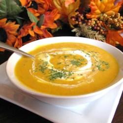 Savory Roasted Butternut Squash Soup