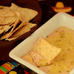 Dos Queso Dip Recipe - This Mexican-inspired cheese dip can be made with any kind of cheese and your favorite salsa. Regular oregano may be used in place of the more strongly-flavored Mexican variety. Serve it warm with tortilla chips.