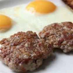 Chef John's Breakfast Sausage Patties Recipe - Ask your butcher for coarsely ground pork shoulder (or grind it yourself), add a few tasty seasonings, and enjoy your own homemade breakfast sausage patties.