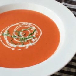 How to Make Tomato Bisque Recipe and Video - You can use good-quality canned tomatoes to make a smooth, rich bisque that tastes like it's right out of the garden. It makes a beautiful fall lunch.