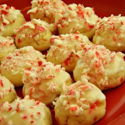 Peppermint Holiday Cookies