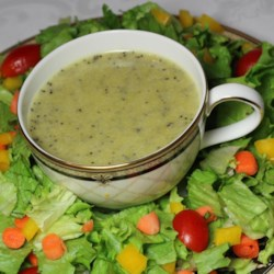 Delicious Poppy Seed Dressing Recipe - This tangy, homemade poppy seed dressing is soon to be a family favorite. With honey, vinegar, Dijon mustard, and a bit of onion, it can be ready in about 5 minutes.