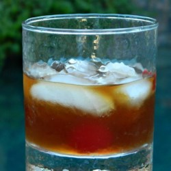 Vermont-Style Manhattan Recipe - Spiced rum takes the place of bourbon here, for a flavorful switch on this classic cocktail