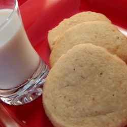 Nutmeg Refrigerator Cookies Recipe - Crisp, sweet and chewy--a basic refrigerator cookie.