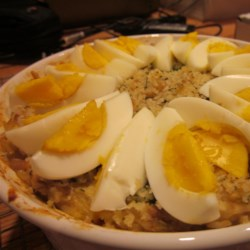 Curry Tuna and Rice Casserole