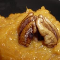 Sweet Potato and Hazelnut Mashed Potatoes Recipe - This side is a great earthy compliment to any dish.  Not too sweet, not too nutty just a perfect mix.  Apple cider acts as the perfect balance for just a touch of sweetness.  This recipe is perfect paired with Beef Tenderloin in a Port Shitake Reduction.