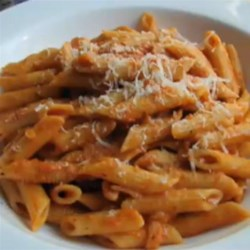 Chef John's Penne with Vodka Sauce Recipe - A little bit of vodka draws out more of the flavor of tomatoes, giving you a more flavorful and easy cream sauce for your pasta.