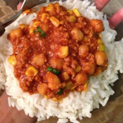 Coconut Curry Chili