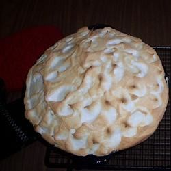 Old Fashioned Lemon Pie Recipe - This pie has a luscious, made-from-scratch lemon pudding, so you 'll need a double boiler. Fresh lemon juice and grated lemon rind are stirred into the thick pudding just before it 's poured into a pie shell. Then a meringue is whipped up and spread over the top, and the pie is slipped into the oven until golden brown.