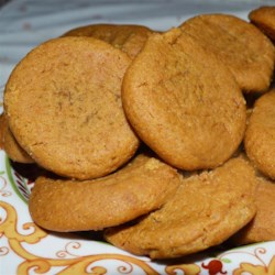 Chewy Gingersnaps Recipe - If you are looking for a soft ginger cookie - here it is!! This is a scrumptious cold weather treat, and a perfect partner to a mug of steaming  hot cocoa.  Enjoy!!