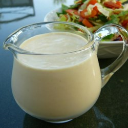 Batman's Best Caesar Dressing Recipe - Fast, easy, creamy Caesar salad dressing that is also an excellent marinade for chicken or fresh seafood.  Best when allowed to sit refrigerated for a day or two.