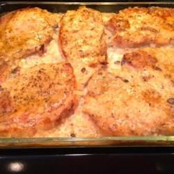 Pork chops mushrooms recipe oven