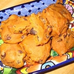 Pumpkin Chocolate Chip Cookies III