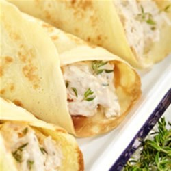 Easy Savoury Crepes Recipe - Crepes are great to make ahead and stuff with your favourite fillings - sweet or savoury!