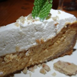 My Creation - Pumpkin Cheesecake with Ginger Whipped Creme
