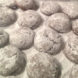 Pfeffernuesse Cookie Mix Recipe - This is a recipe for a traditional spicy German cookie made with black pepper commonly found on Christmas cookie platters.
