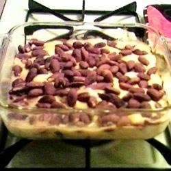 Easy Almond Chicken Recipe -  A chewy almond topping makes the difference in this creamed chicken casserole.