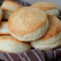 How to Make Cream Biscuits  Recipe - If you want a beautiful basket of hot biscuits sitting next to your holiday meal, give this delicious and super-simple recipe a try.