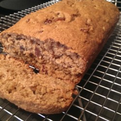Moist Date Nut Bread Recipe - A moist not too sweet version of a figgy pudding but made with dates and minus the spices. You could try covering with buttered foil and steaming it for a even moister version. This can also be baked in a (28 ounce) can.