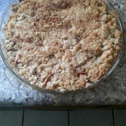 Impossible French Apple Pie Recipe - Apple pie that makes own crust. Pecans may be used in place of walnuts.