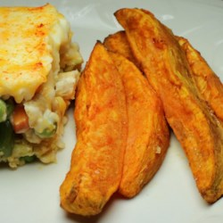 Baked Sweet Potato Sticks Photos - Allrecipes.com