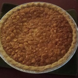 Macadamia Nut Pie Recipe - Nice alternative to Southern pecan pie; very rich and buttery. Even better with homemade whipped cream on the side!