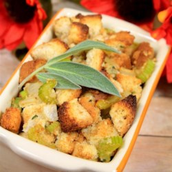 Gluten Free Thanksgiving Stuffing Recipe - Everyone will enjoy this gluten-free version of bread stuffing this holiday season.