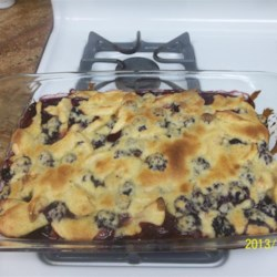 Fresh Fruit Cobbler
