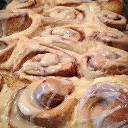 Mom's Jiffy Cinnamon Rolls Recipe - Real yeast-risen cinnamon rolls in record time? Yes, it's possible with this recipe that adds the helper ingredient of packaged yellow cake mix to make the rolls tasty and light. They need just 15 minutes to rise.