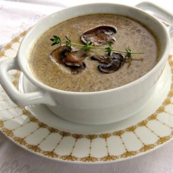 Chef John's Creamy Mushroom Soup  Recipe - The secret to this deep rich soup is a long slow caramelization, the key to unlocking the mushroom's magic. This is just pure essence of mushroom.